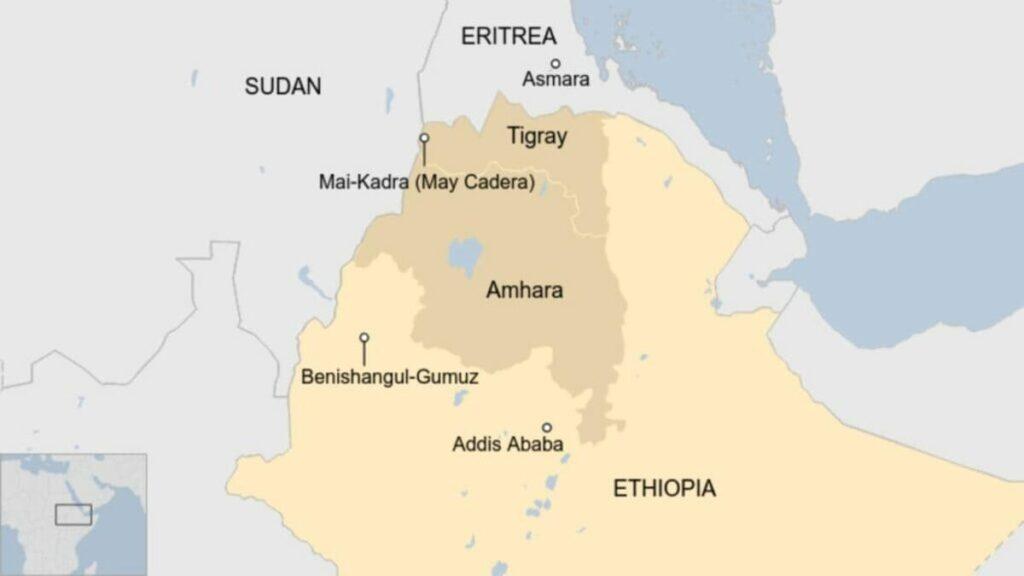 la guerra civile in Tigray vede dalla stessa parte Etiopia e Eritrea