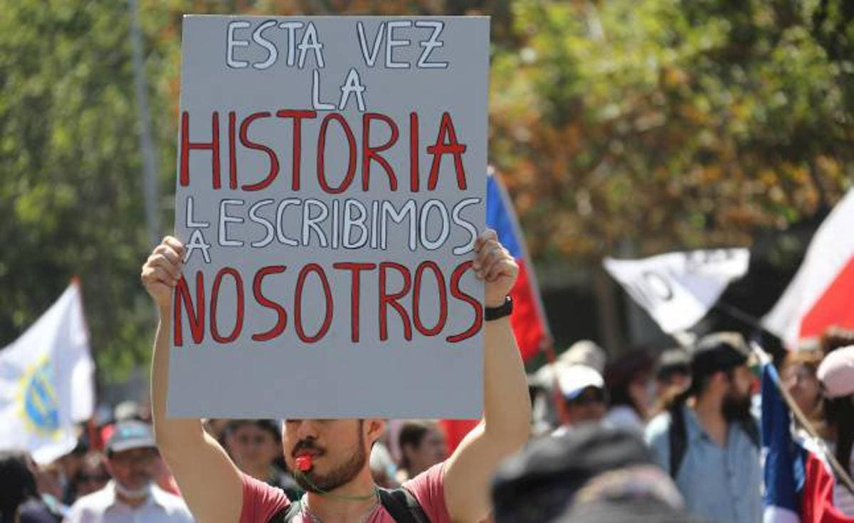 Chile constitutional Convention protests